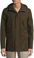 Ben Sherman Hooded Zip-Front Jacket