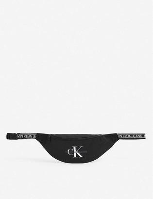 Calvin Klein Logo-print nylon belt bag