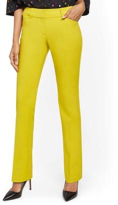 New York & Co. Petite Straight-Leg Pant - Signature Fit - All-Season Stretch - 7th Avenue