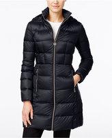 MICHAEL Michael Kors Hooded Packable Puffer Coat
