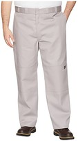 Dickies Double Knee Work Pant Extended Waist Sizes (Silver Gray) Men's Casual Pants
