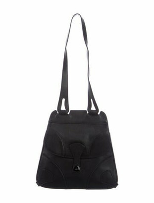 Marc Jacobs Double Flap Shoulder Bag Black