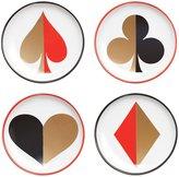 Jonathan Adler Full Deck Coaster Set - Red