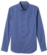 Banana Republic Grant Slim-Fit Flannel Oxford Shirt