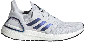 adidas Ultraboost 20 Space Race Womens Running Shoes Grey / Purple US 7.5