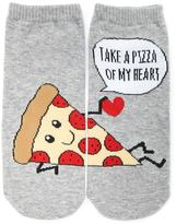 Forever 21 FOREVER 21+ Take A Pizza Of My Heart Socks