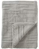 "Pendleton Grey Santa Clara Textured Knit Wool Throw - 50\"" x 60\"""