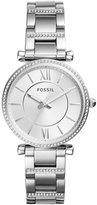 Fossil Carlie Pav Analog Bracelet Watch