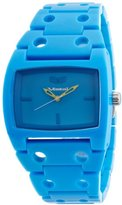 Vestal Women's DESP007 Destroyer Plastic Cyan Blue Watch