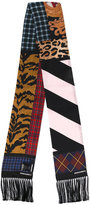 DSQUARED2 multi-print scarf