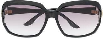 Gucci Pre-Owned 2000s Interlocking G square-frame sunglasses