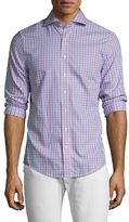 Gant Gingham Cut Away Sportshirt