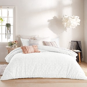 Peri Home Clipped Floral Comforter Set, Full/Queen