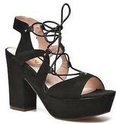 Bronx Women's Jada Strap Sandals in Black