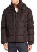 SAM. Quilted Military Goose Down Jacket