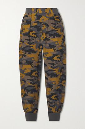 ATM Anthony Thomas Melillo Camouflage-print Silk Track Pants - Bronze