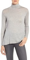 Velvet by Graham & Spencer Women's Lux Drapey Turtleneck