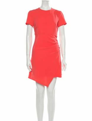 Cinq à Sept Imogen Dress Knee-Length Dress Orange
