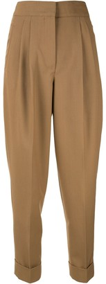 CASASOLA Cropped Pleated Trousers