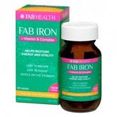 Fab IRON + Vitamin B Complex 60 tablets