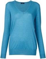 Roberto Collina cashmere V-neck jumper - women - Cashmere - L