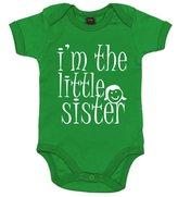 Dirty Fingers, I'm the Little Sister, Baby Bodysuit, 6-12m