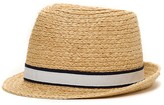 Tommy Hilfiger Final Sale-Raffia Beach Fedora