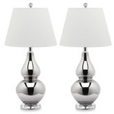 Safavieh Cybil Gourd Glass Table Lamps (Set of 2)