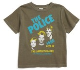 Junk Food Clothing Toddler Boy's The Police Graphic T-Shirt
