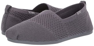 BOBS from SKECHERS Bobs Plush - Autumn Leaf (Dark Grey) Women's Shoes