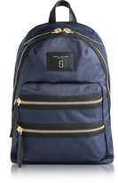 Marc Jacobs Midnight Blue Nylon Biker Backpack