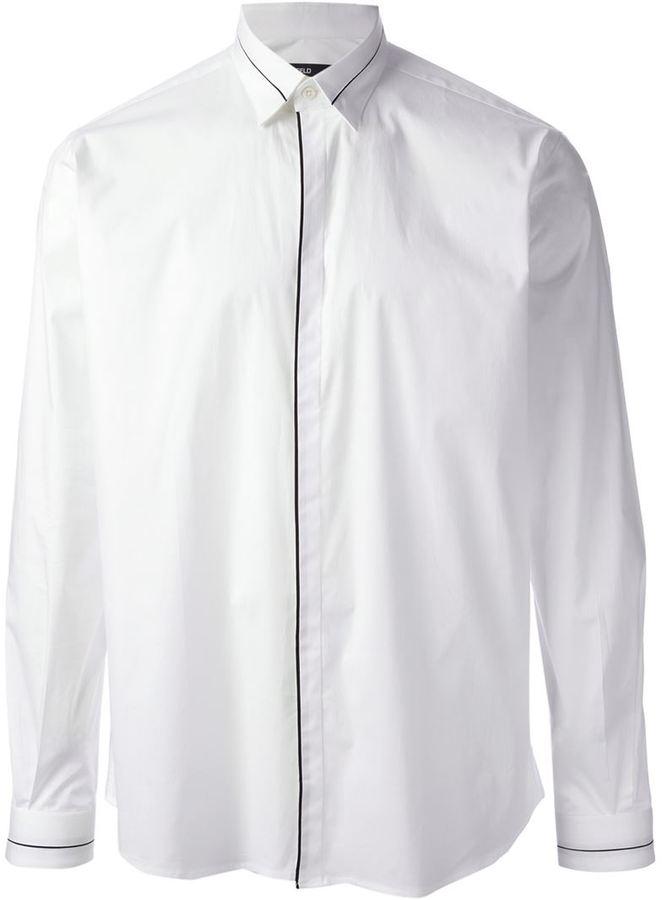 Karl Lagerfeld Lagerfeld edge detail shirt