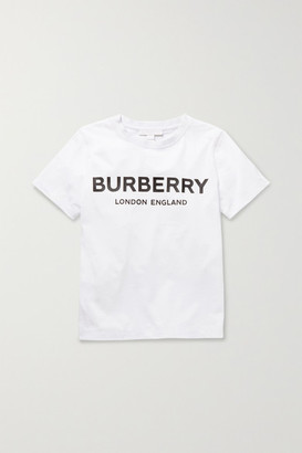 Burberry Ages 3 - 12 Printed Cotton-jersey T-shirt