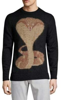 Givenchy Snake-Print Sweater