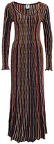 Thumbnail for your product : M Missoni Striped Maxi Dress