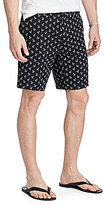 Polo Ralph Lauren Tossed Anchors Printed Classic-Fit Linen-Blend Shorts