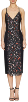 Rachel Roy Printed Fringe Panel Dress