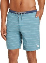 Katin Hatch Stripe Board Shorts