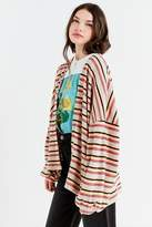 Out From Under Gathered Sleeve Thermal Cardigan