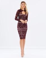 Cooper St The Last Hurrah Long Sleeve Dress