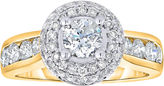 JCPenney MODERN BRIDE True Love, Celebrate Romance 2 CT. T.W. Certified Diamond 14K Gold Engagement Ring