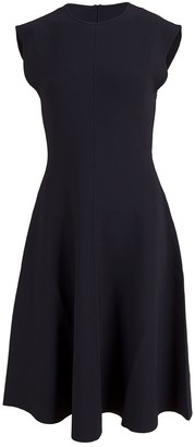 Stella McCartney Compact Knit A-Line Dress