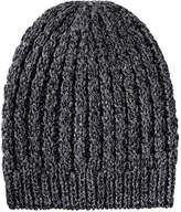 Joe Fresh Women's Sparkle Cable Knit Hat, Silver (Size O/S)