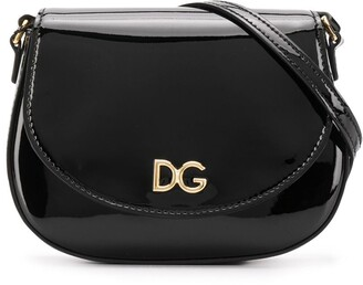 Dolce & Gabbana TEEN logo crossbody bag