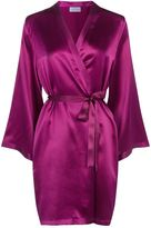 Marjolaine Silk Short Robe