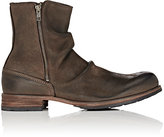 Shoto Men's Leather Side-Zip Boots