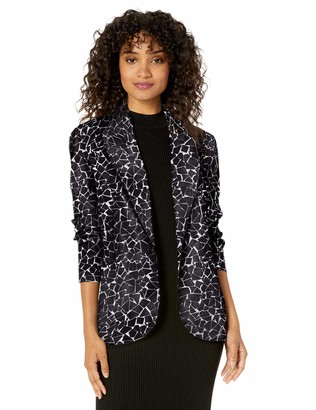 Norma Kamali Women's Single Breasted Jacket
