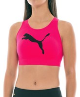 Puma Big Cat Seamless Sports Bra - Low Impact, Removable Cups (For Women)
