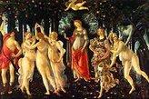 Sandro 1art1 Posters Botticelli Poster Art Print - Primavera (20 x 14 inches)