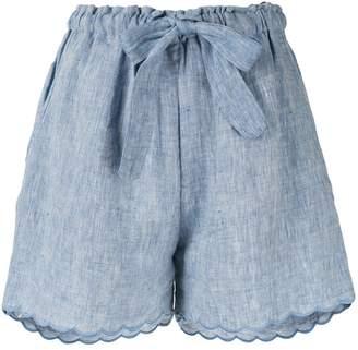 Innika Choo Wilma Butfiet high-rise shorts